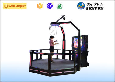 China Big VR Standing Platform , Virtual Reality Gaming Platform For Amusement Park supplier