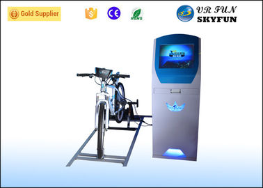 Popular 9D Fitness Virtual Bike Ride , VR Exercise Equipment Bike Simulator Trainer