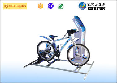 Fashion 9D VR Bike Virtual Reality Motion Simulator For Indoor Amusement Park