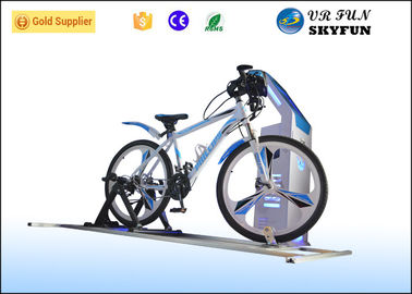 Sport 9D VR Game Virtual Bike Simulator With Wireless 3D Vr Glass CE Approved