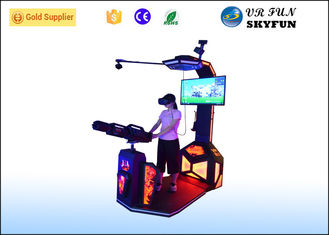 China Electric HTC Vive VR Shooting Simulator 9D Virtual Equipment Gatling VR For Entertainment supplier