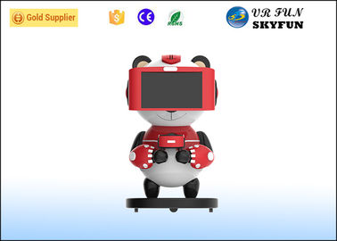 Attractive Kids Game Machine , Virtual Reality Sports Simulators With VR Headset