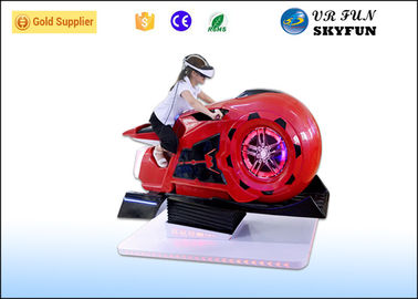 3D Glasses 9D VR Motorbike Simulator For Amusement Park / Shopping Mall