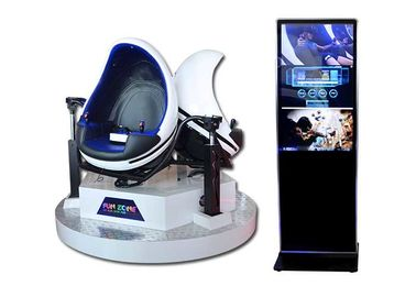 Interactive Triple Seats 9D VR Cinema VR Simulator Amusement 9D Ride For 3 Players