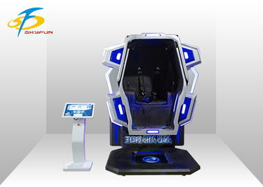 360 Kingkong Single Seat 9D Virtual Reality Simulator With 22 Inch Touch Screen
