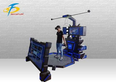 China Arcade Game Skyfun 9D VR Simulator With Music Game 12 Months Warranty supplier