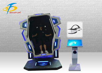 Ausement Ride Game 360 Degree VR Simulator / 9D Virtual Reality Cinema