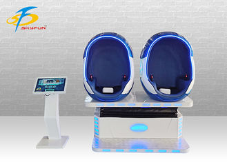 Amusement Park Products 9D Virtual Reality Cinema Simulator 2 Seats 9D VR Chair