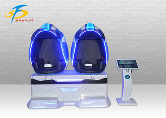 2 Seats 9D VR Cinema 3 DOF Motion 4D Chair Virtual Reality Equipment For VR Theme Park