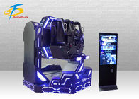 China 1080 Degree Rotation 9D VR Simulator Black / Blue Color 12 Months Warranty company