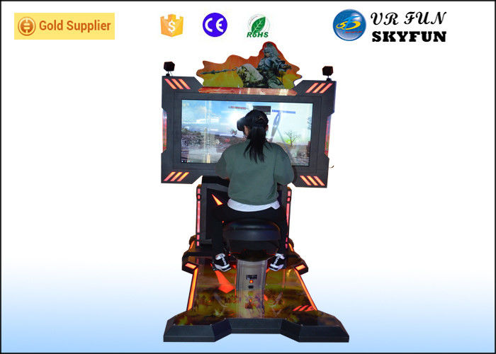 Popular Virtual Reality Horse Riding / Shooting Machine For Game Centers
