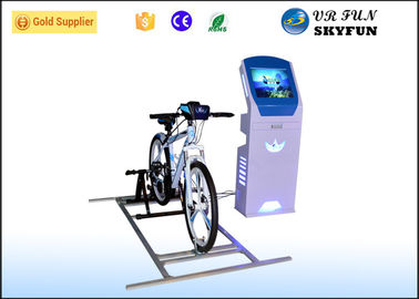 China Virtual Reality Exercise Bike , VR Fitness Bike With 9D Reality Sport Games factory