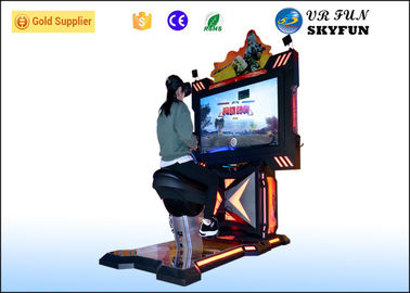 Arcade Game Machines Virtual Reality Horse Amusement Park Equipment With VR Games