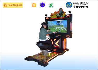 China Shooting Game Horse Ride Virtual Reality Horse With HTC Vive Headset and 2 Joysticks factory