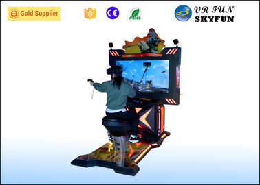 China Arcade Game 9D Virtual Reality Simulator , HTC Vive Glasses Virtual Reality Horse Riding factory