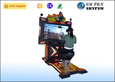 China Horse Riding Simulator Machine With HTC Glasses , 9D VR VR Games Simulator factory
