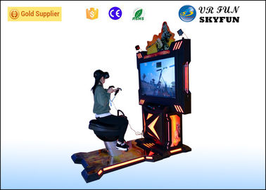 China Shopping Malls Virtual Reality Horse Arcade Game Machine With HTC Vive VR Headset factory