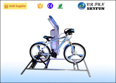China 1 Seat Adult 9D Virtual Reality Bike Simulator VR Racing Bike For Gym Equipment factory