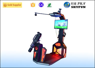 China Game Center Immersive VR Shooting Simulator /  9D Shooting Machine With Space Location factory