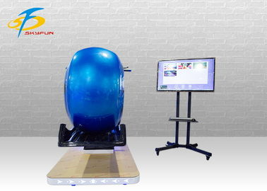 China Coin Supported 9D VR Motor Motorbike Arcade Machine High Speed factory