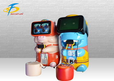 Interactive 9D VR Game Machine For Kids In Amusement Park / Theater