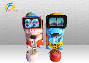 China Small VR Gaming Equipment With 19 Inch Display Screen / Virtual Reality Simulator factory
