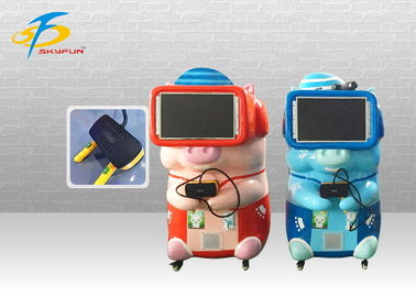 China 1KW 1 Person VR Game Machine Coin Operated For Club And Airport factory