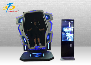 China 1 Seat 9D 360 Degree VR Chair Blue / Red Virtual Reality Simulator factory