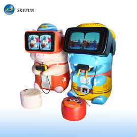 Skyfun Pig & Hippo Children VR Game Machine With Touch Screen Cute Appearance