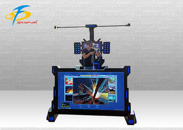 China Iron Material  1 People MR Music Machine With 55 PCS Games +65 Inch Screen factory