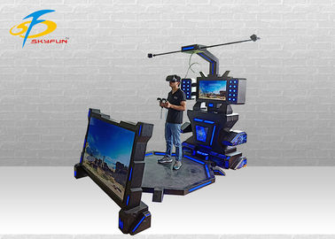China 9D HTC VR Simulator MR VR Machine Virtual Reality Cinema For Single Player factory