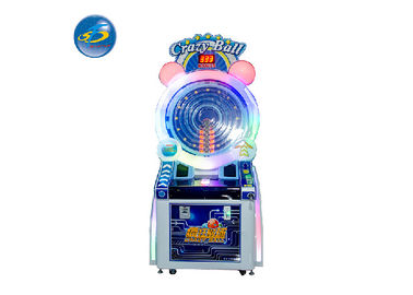 China English Langauge Coin Operated Crazy Ball Game Machine For Kids And Adult factory