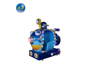 China ROHS Coin Operated Arcade Games Kiddie Ride Sub Machine With Shinning Lightings And Music factory