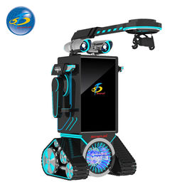 China Robot Type Automatic VR Game Machine With 50'' Touch Screen Console Display factory