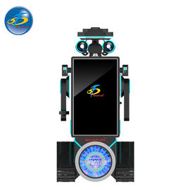 China Custom Made Auto VR Game Machine With Cool Robot Appearance 250 kg factory