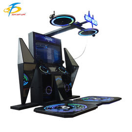 China Beat Saber Arcade Game 9D VR Simulator With 2 Player Touch Screen Display factory